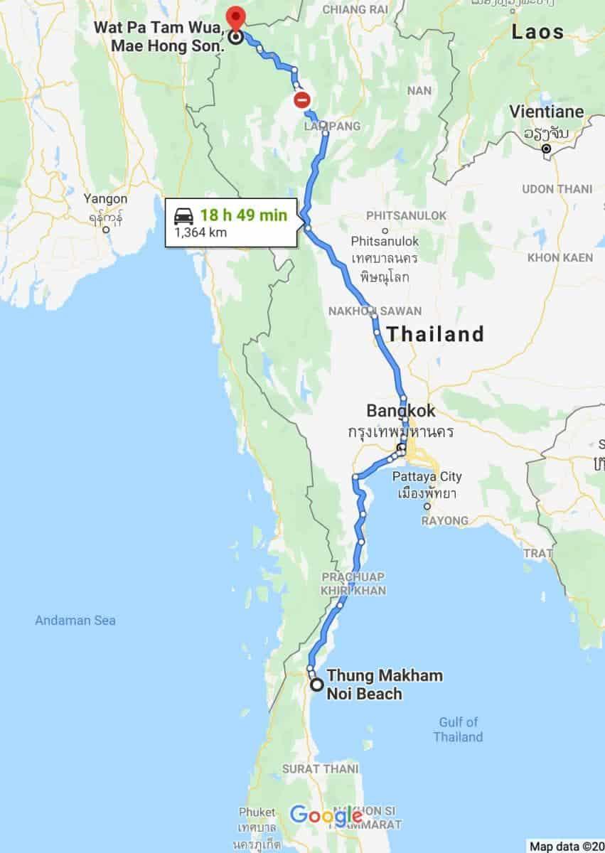 Kelias link vienuolyno (Google Maps)