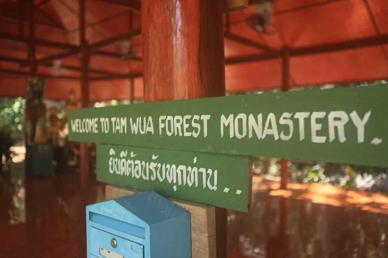 Sveiki atvykę į Wat Pa Tam Wua vienuolyną
